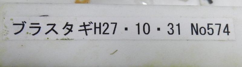 画像1: ブラスタギNo574  H27・10・31 増殖待ち
